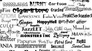 como organizer suas fonts